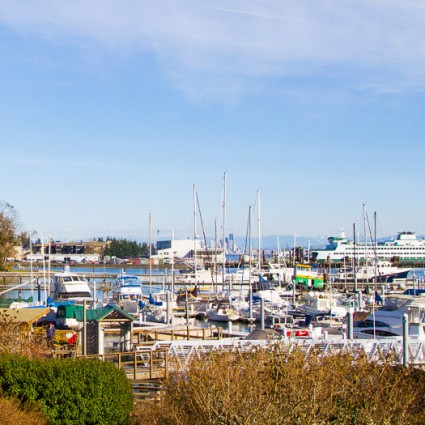 Eagle Harbor Marina on Bainbridge Island